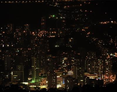 Nighttime Medellin